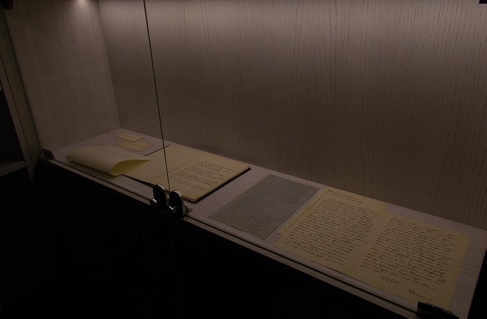 Originaltexte aus dem Deutschen Literaturarchiv in Marbach (Foto: 8/KK)
