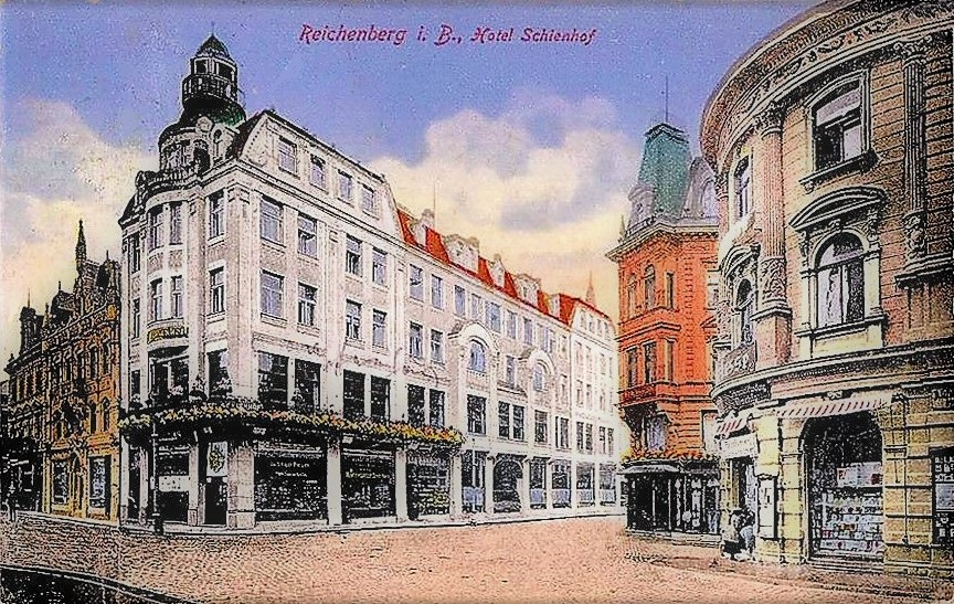 Hotel Schienenhof - Historische Ansicht