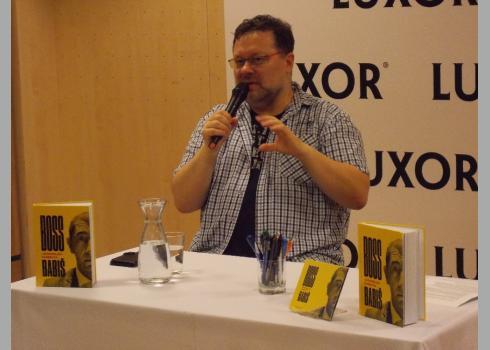 Jaroslav Kmenta am 01.06.2018 in der Buchhandlung Luxor