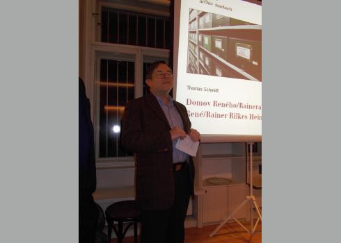 Dr. Berthold Franke, Leiter des Goethe-Instituts Prag (Foto: 2/KK)
