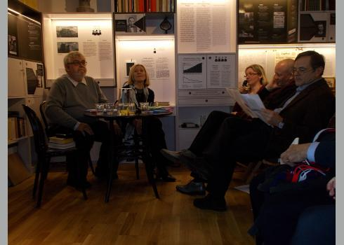 Prof. Dr. Milan Tvrdík und Dr. Viera Glosíková von der Karls-Universität Prag (Foto: 3/KK)