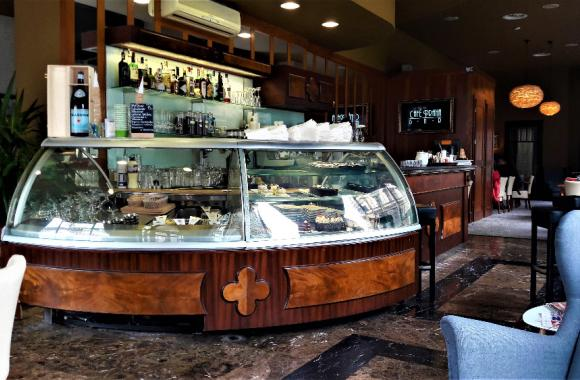 Hotel Praha Liberec heute - Café
