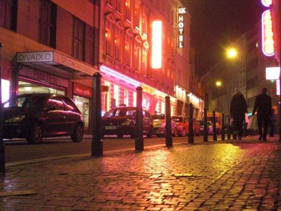 Rotlichtszene in Prag: Straße Ve Smečkách   Tschechien Online