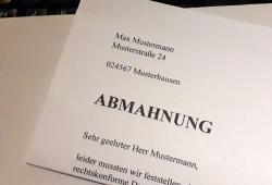 Droht ab dem 25. Mai Post aus Deutschland?