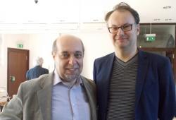 Tomáš Kraus und Tomáš Kafka (rechts)
