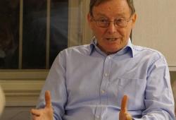 Hans Dieter Zimmermann im Prager Literaturhaus