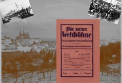 """Nach der Entmachtung des österreichischen Parlaments durch Kanzler Dollfuß ging die ehemals aus Berlin stammende """"Weltbühne"""" nach Prag und wurde erneut in """"Die neue Weltbühne"""" umbenannt."""
