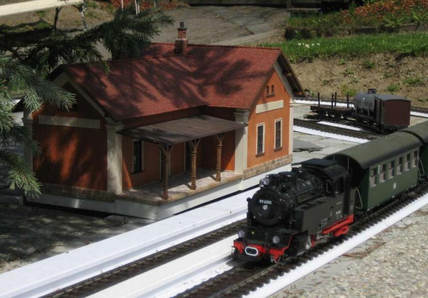 LGB-Modelbahn (Modell im Park Boheminium)